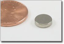 8x2mm nickel plated rare earth magnet